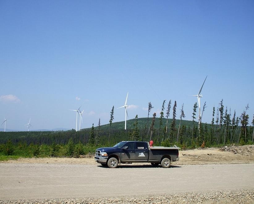 Quality Wind Project - Tumbler Ridge, BC