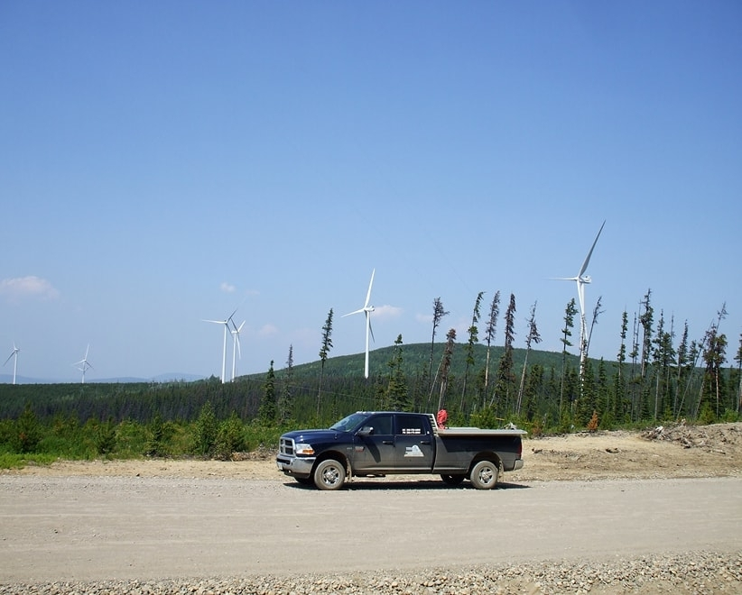 Quality Wind Project - Tumbler Ridge, BC